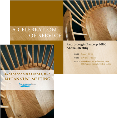 AB invitation design