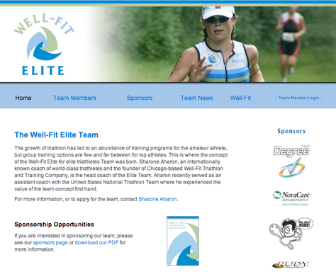 well fit elite home page